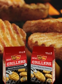 New Ore-Ida Grillers for Cookout Season