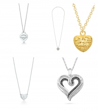Heart-Shaped Necklaces