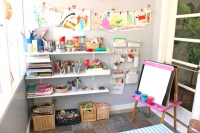 Organization Ideas for Kids' Spaces