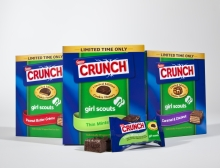 New Nestlé Crunch Girl Scout Candy Bars